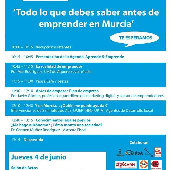 Todo lo que debe saber antes de montar una empresa en Murcia