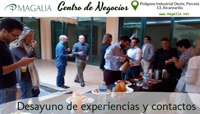 Magalia reúne a sus empresas alojadas en un desayuno de experiencias