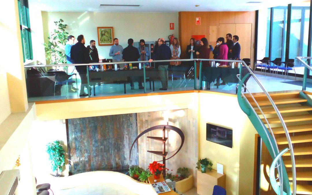 Almuerzo de Experiencias entre alojados en Centro de Negocios Magalia