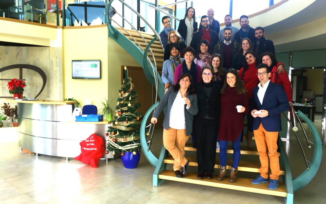 Magalia celebra la Navidad con sus alojados