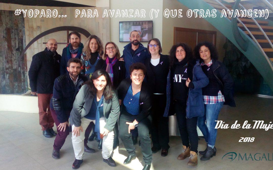 El Centro de Negocios Magalia se une a los paros convocados por el Día de la Mujer