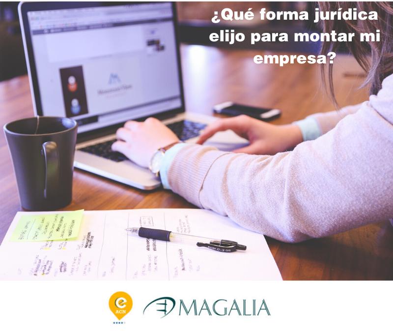 ¿Qué fórmula jurídica elijo para montar una empresa?