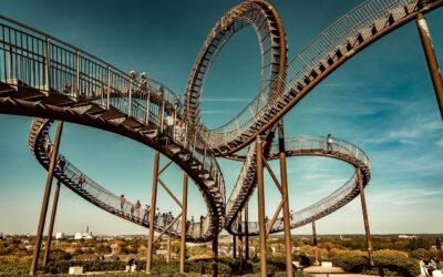 ¿Ser responsable de un negocio es como montar a la montaña rusa?