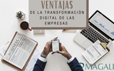 Ventajas de la transformación digital de las empresas