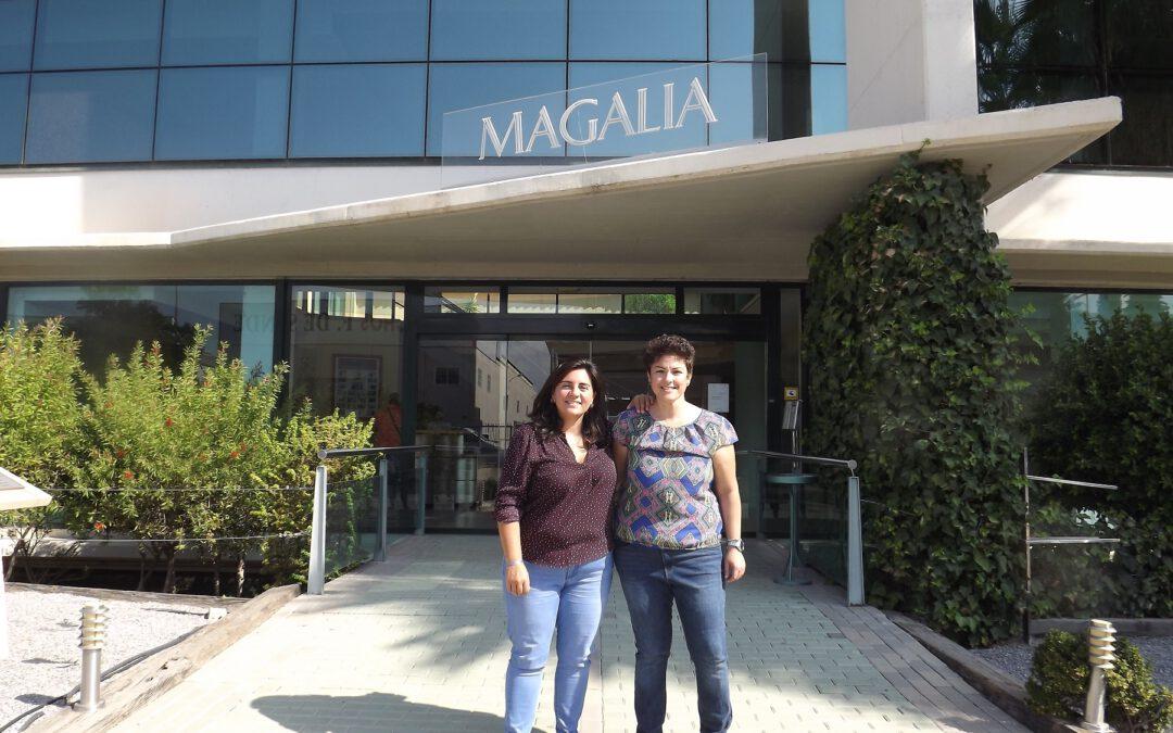 «La calidad humana de la gente que trabaja aquí es impresionante». Entrevistamos a la agencia Aquere Social Media, clientes del Centro de Negocios Magalia.