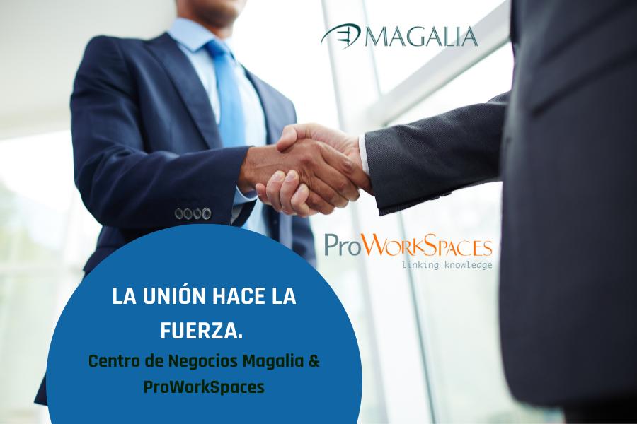 «La unión hace la fuerza» o por qué el Centro de Negocios Magalia forma parte de ProWork Spaces